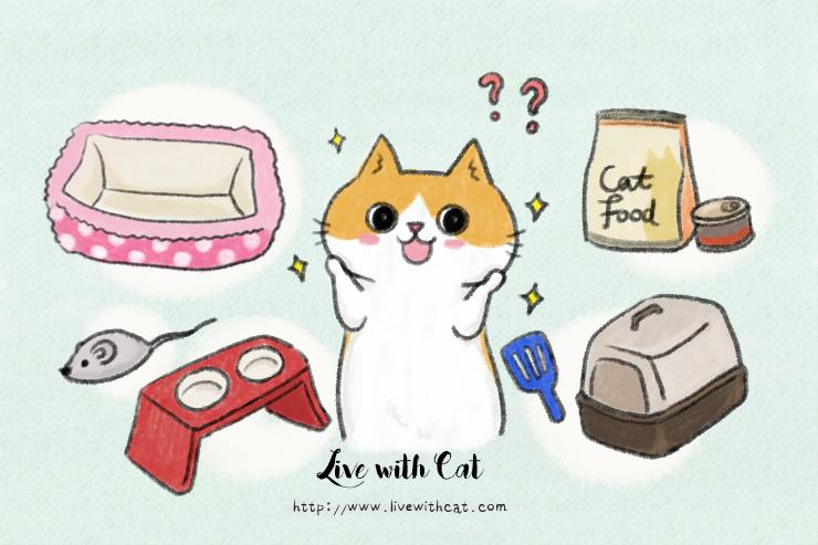 養貓須知,貓用品準備