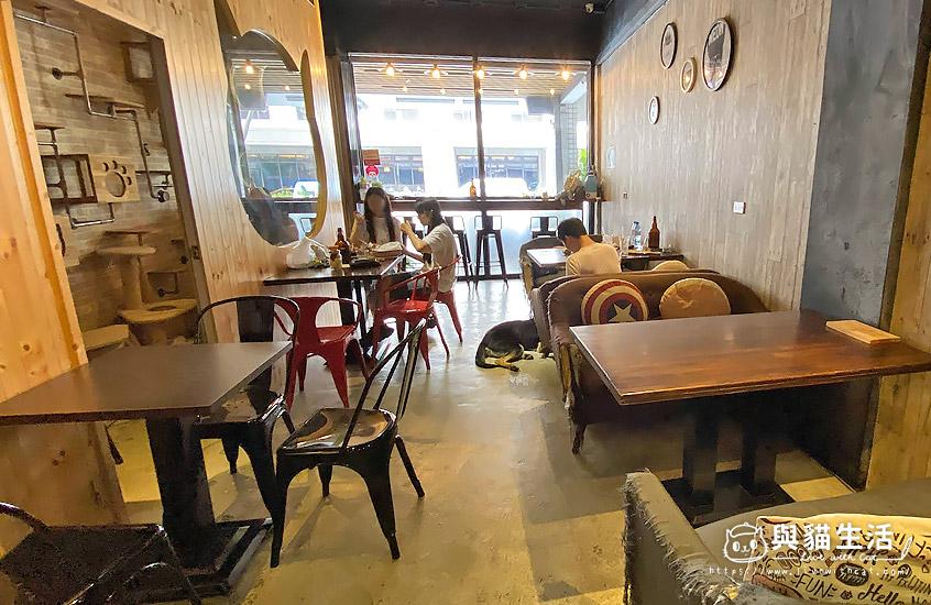 壹樓貓咖啡-室內1