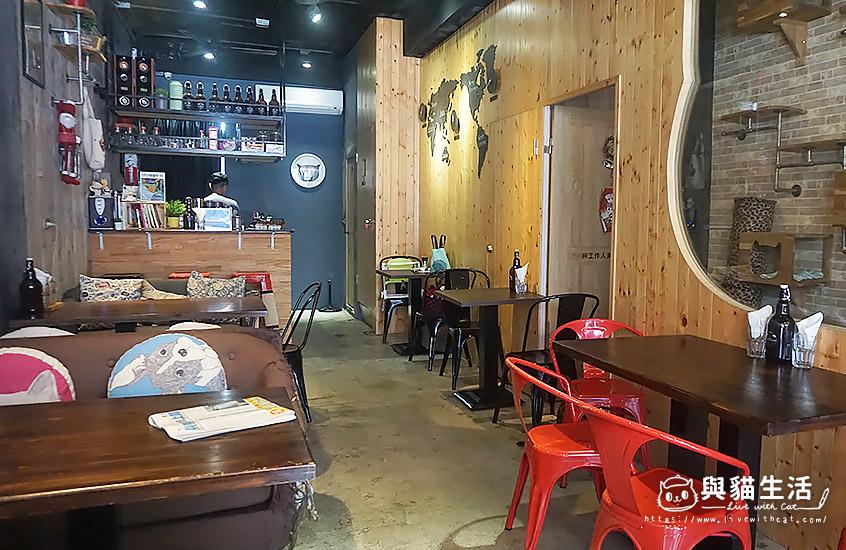 壹樓貓咖啡-室內2